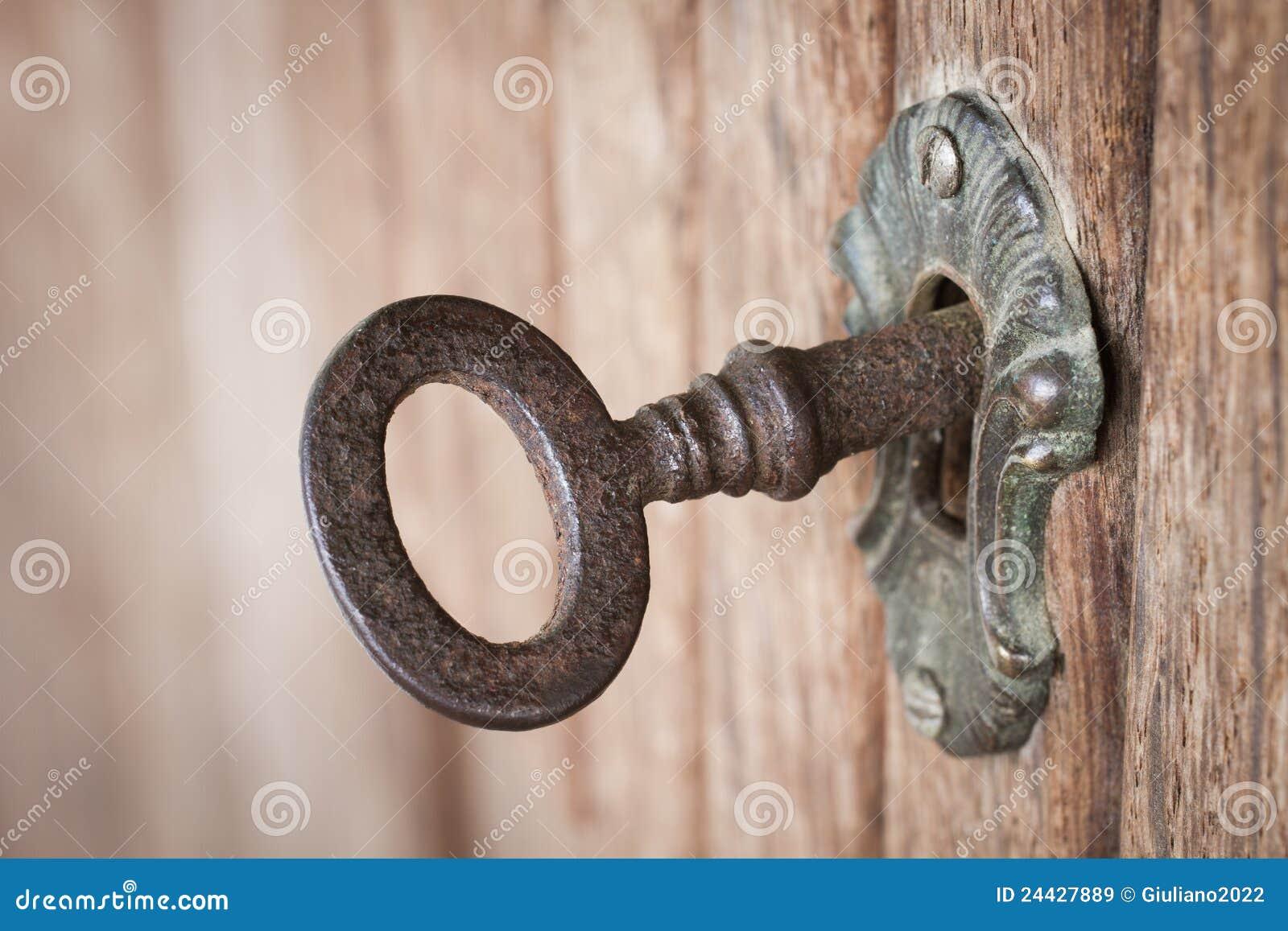 Stary kluczowy keyhole