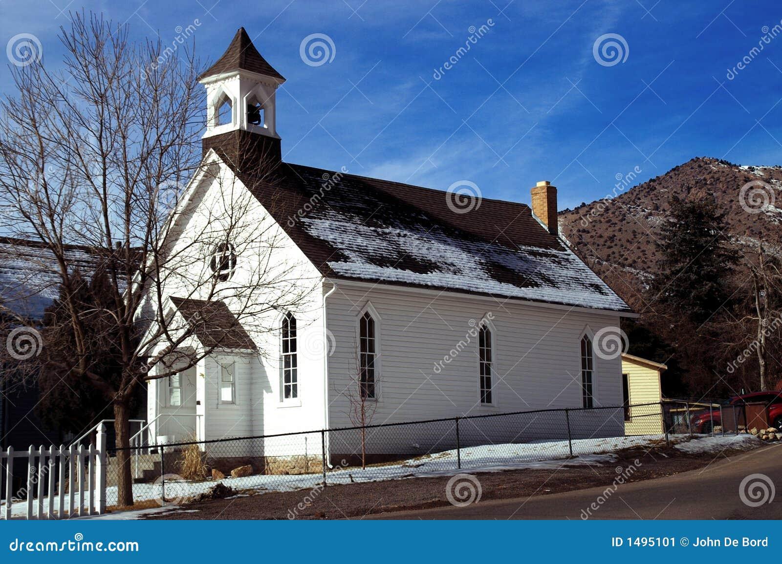 Stary kościół amerykański kraju