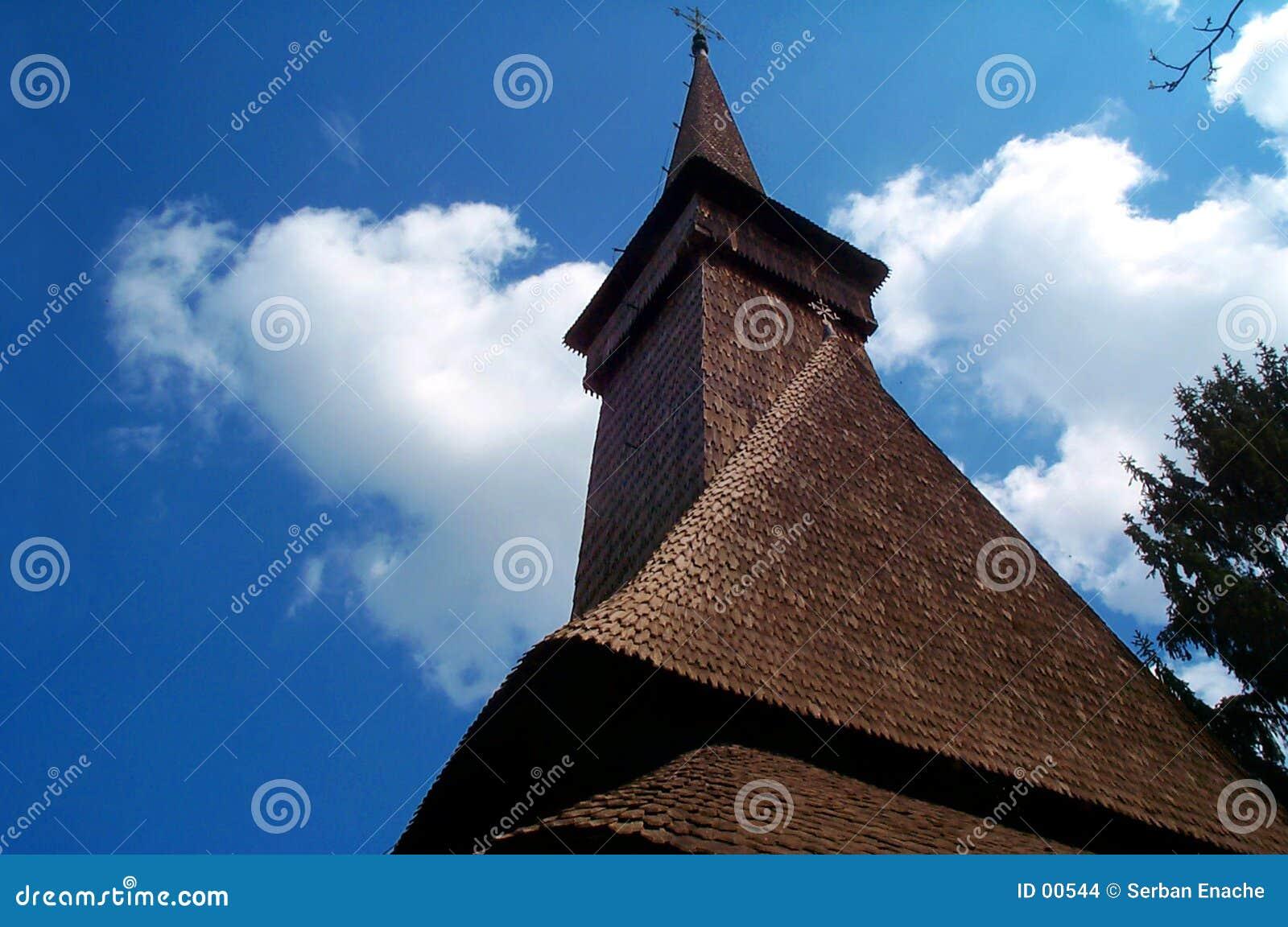 Stary kościół europejskiego