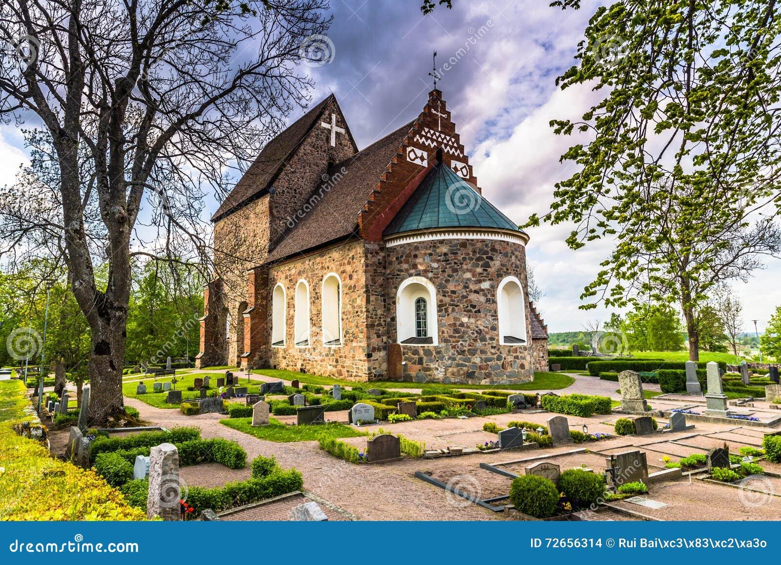 Stary kościół Gamla Uppsala, Szwecja