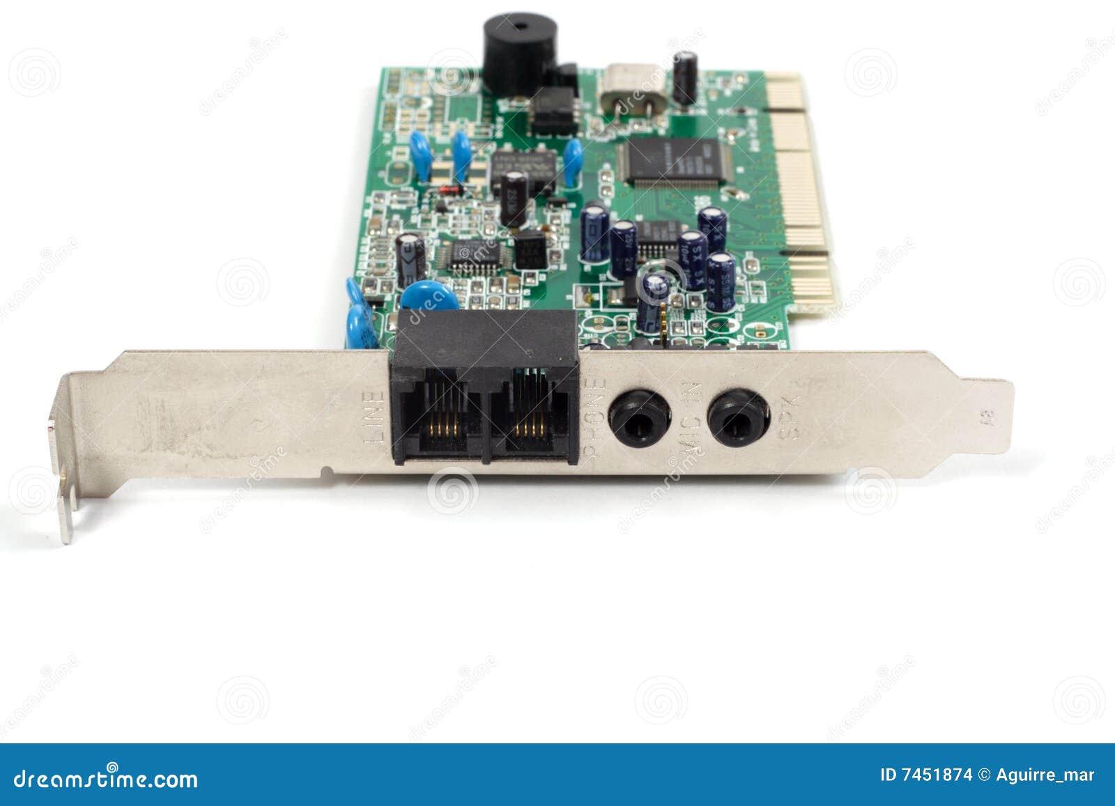 Stary komputerowy modem