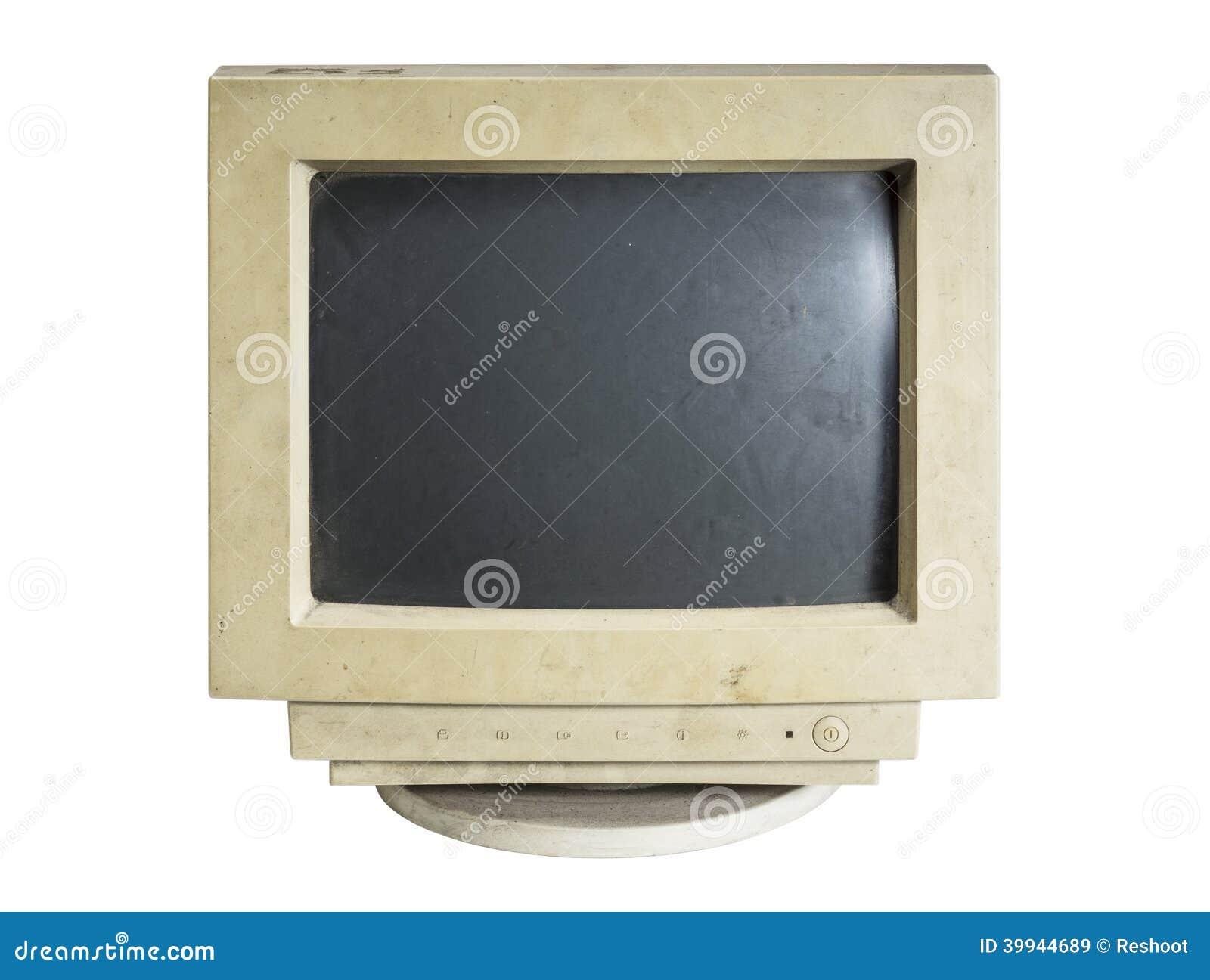 Stary komputerowy monitor
