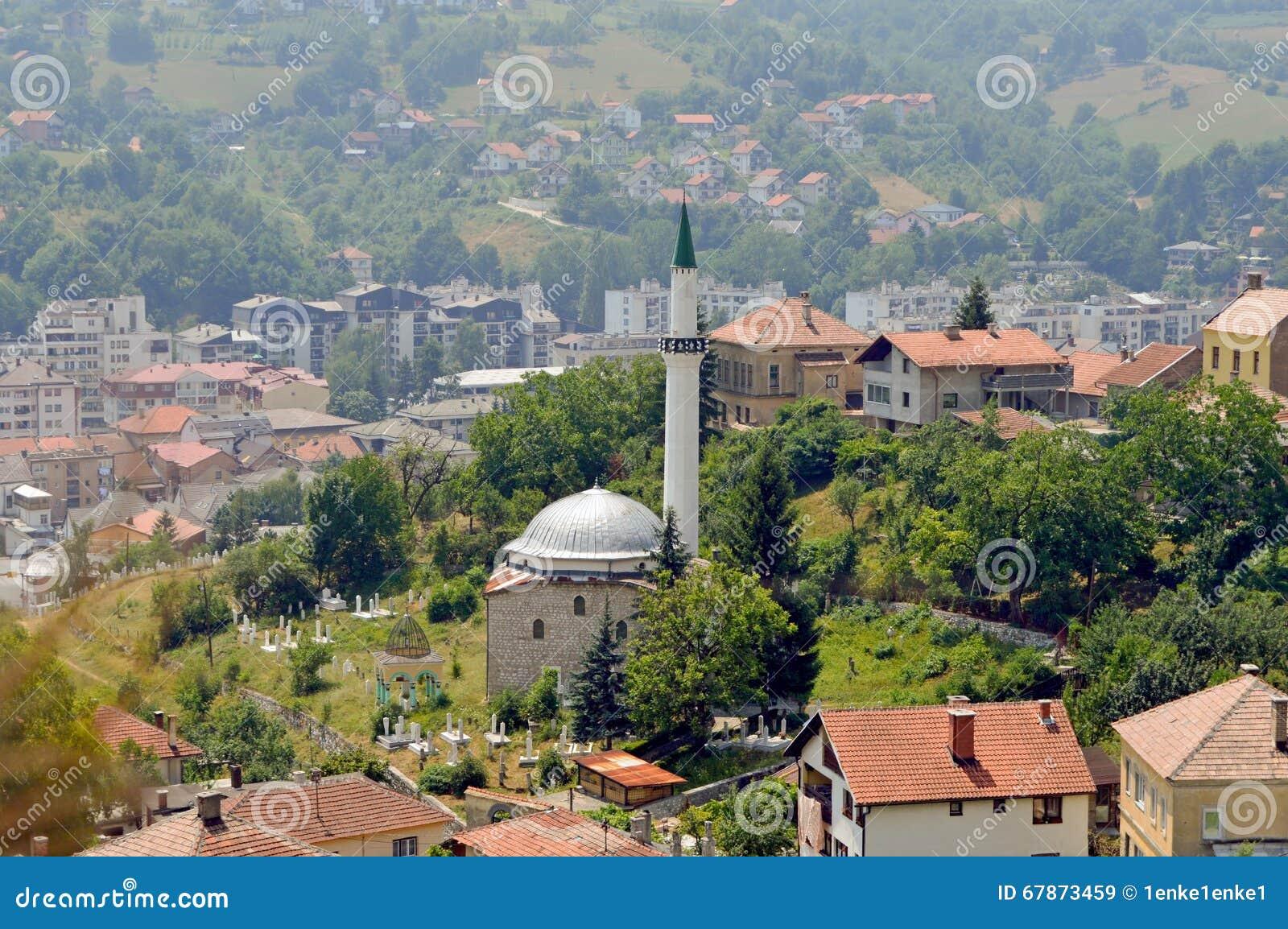 Stary miasteczko w Bośnia i Herzegovina