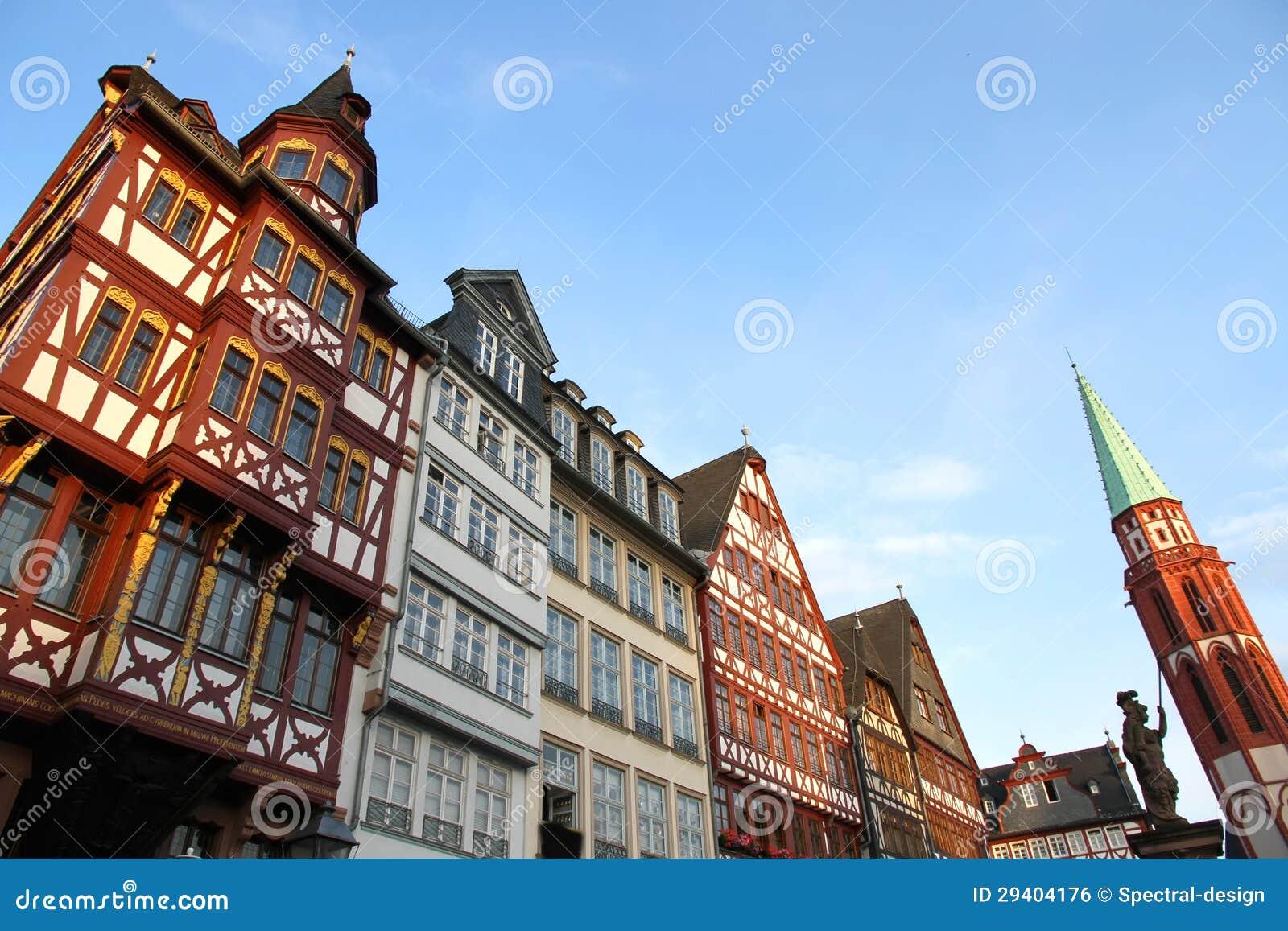 Stary miasteczko w Frankfurt magistrala - Am -