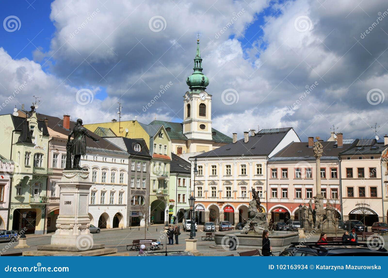 Stary miasteczko w Turnov, republika czech, Czechia