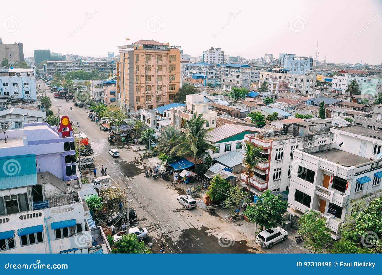 Stary miasto Mandalay
