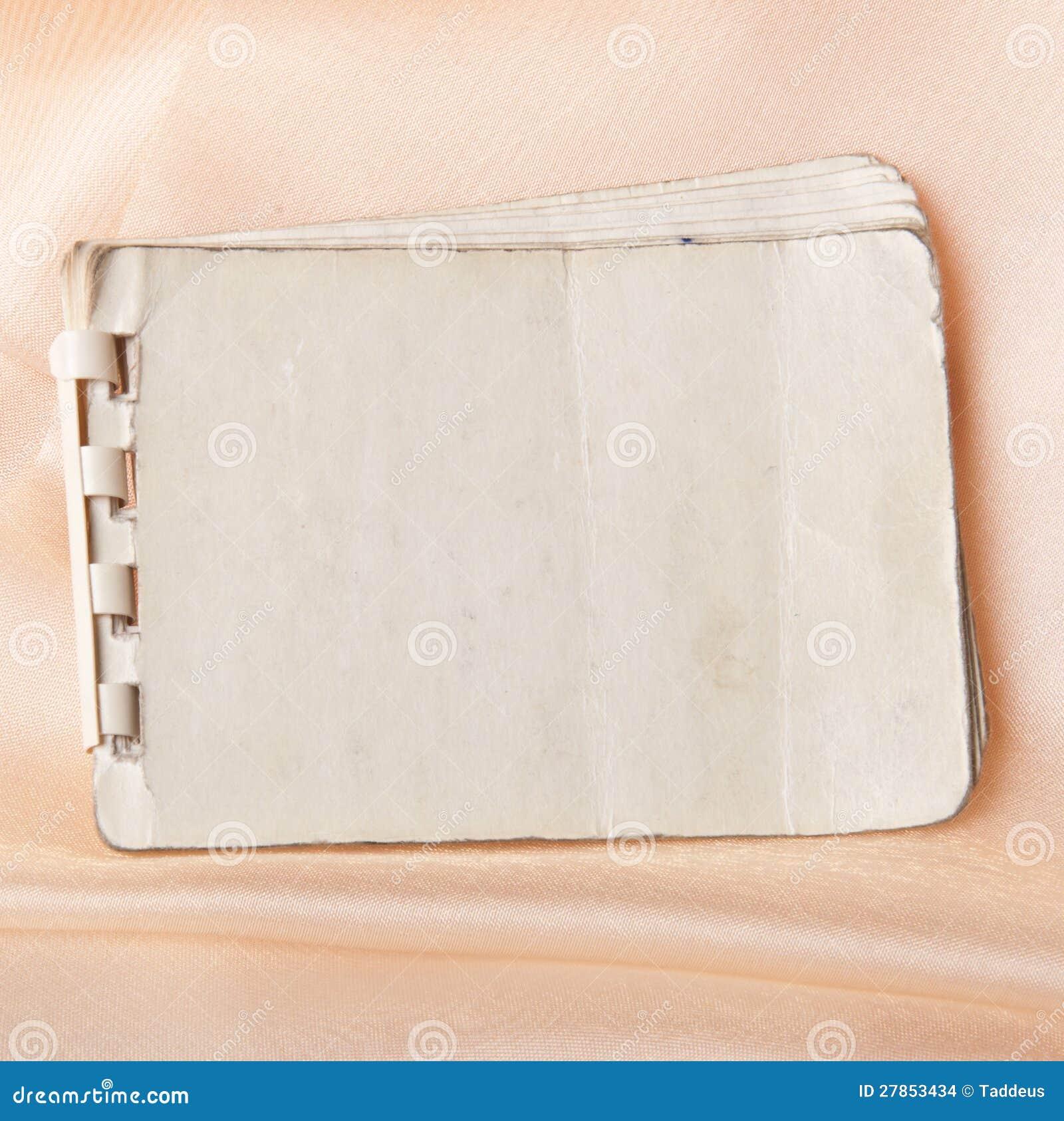 Stary notatnik