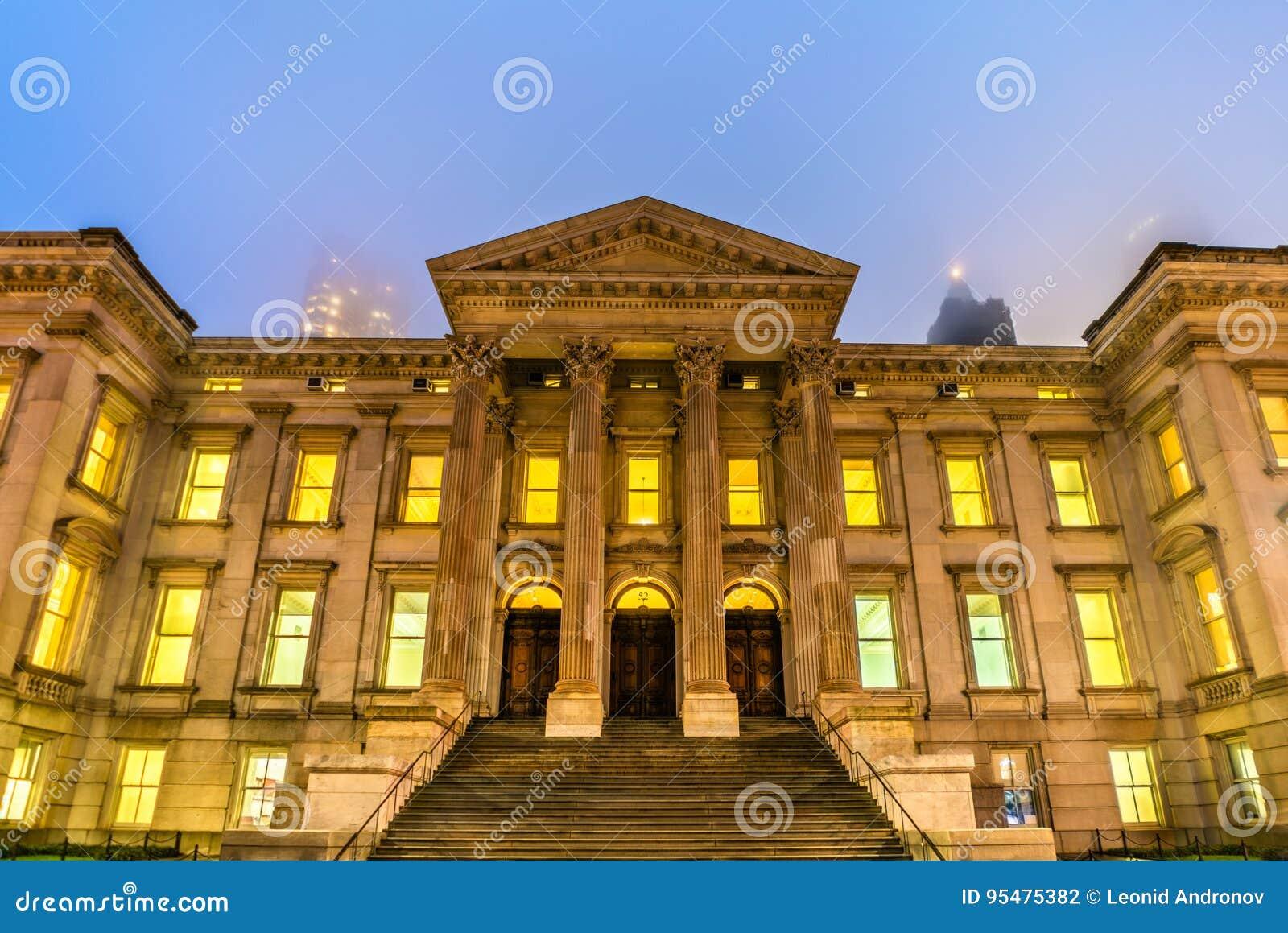 Stary Nowy Jork okręgu administracyjnego gmach sądu, także znać jako tweedu gmach sądu w Manhattan