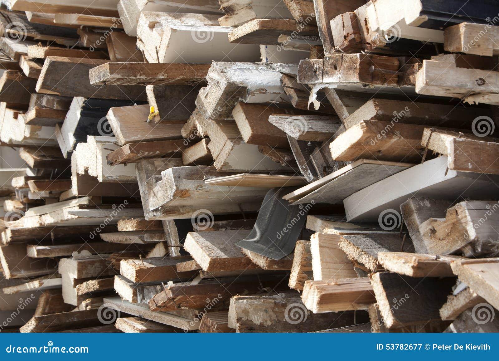 Stary palowy drewno
