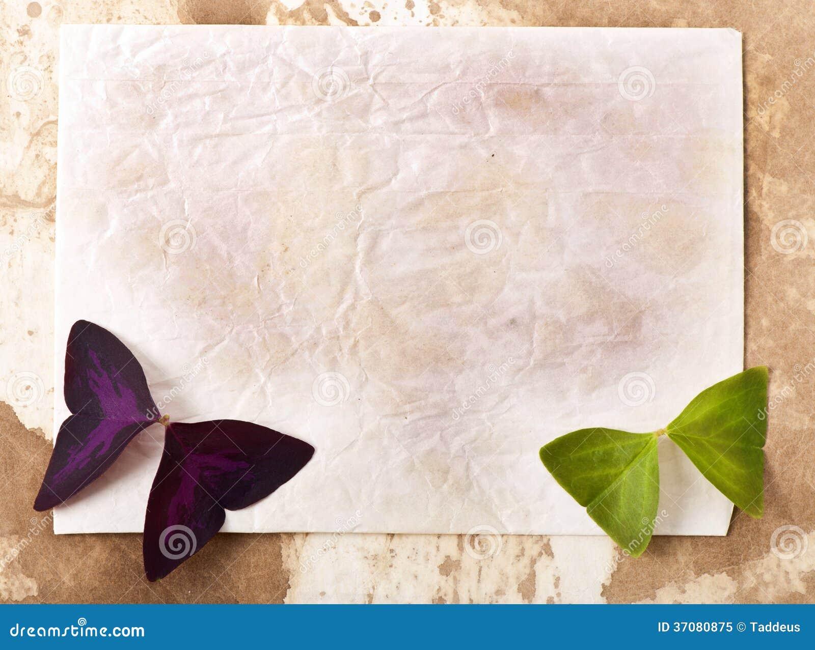 Download Stary papier obraz stock. Obraz złożonej z tekstura, kwiat - 37080875