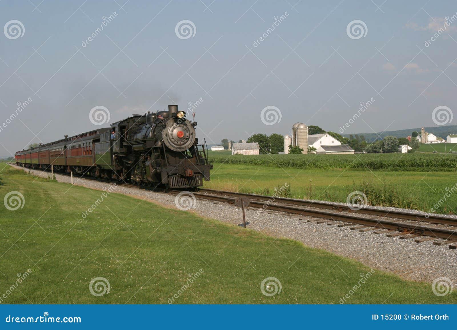 Stary pociąg