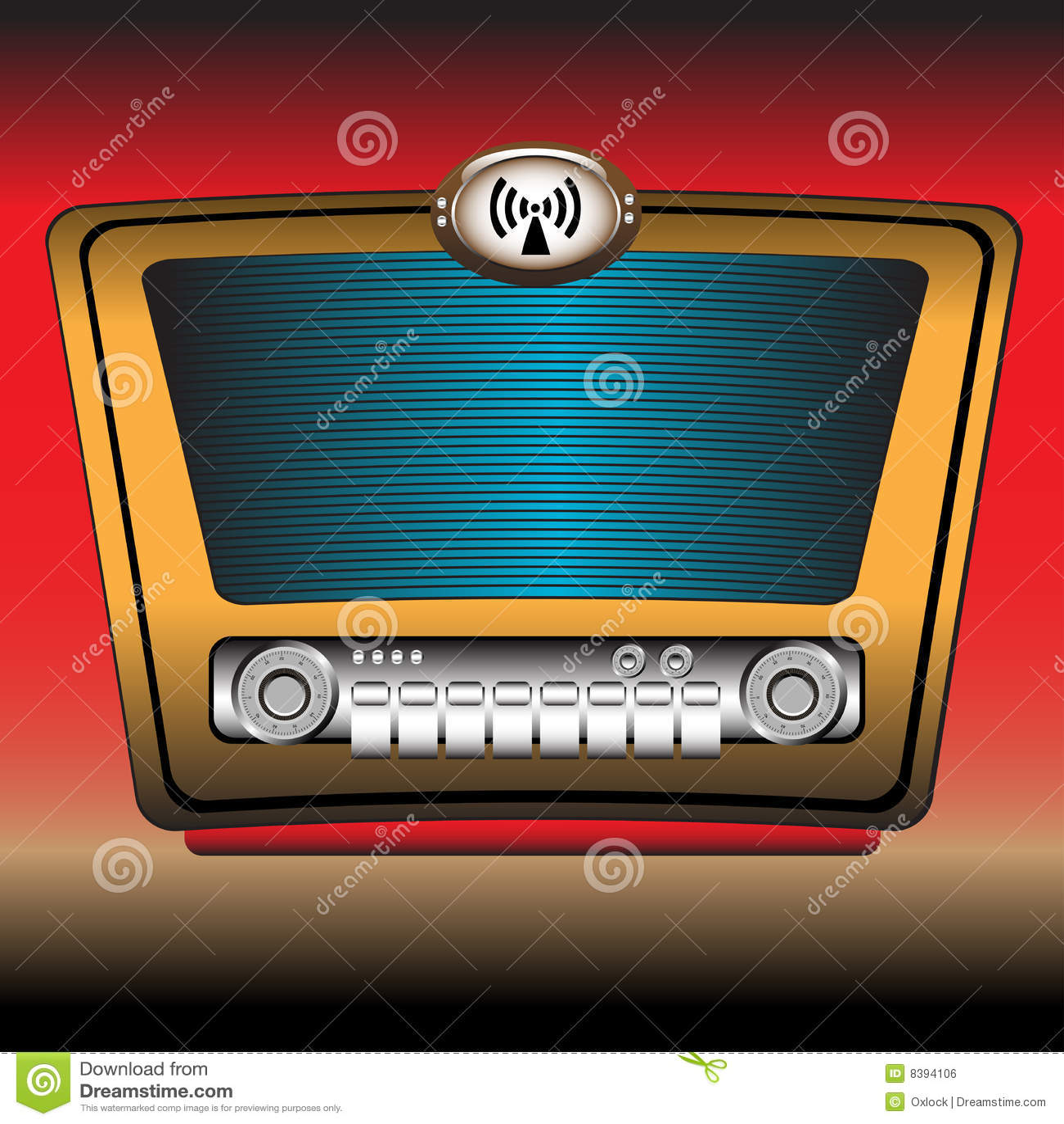 Stary radio