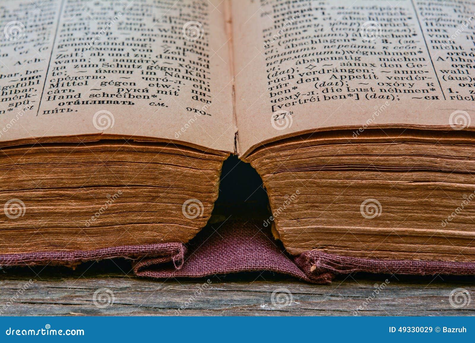 Stary rocznik niemiec słownik 1948 rok uwolnienie