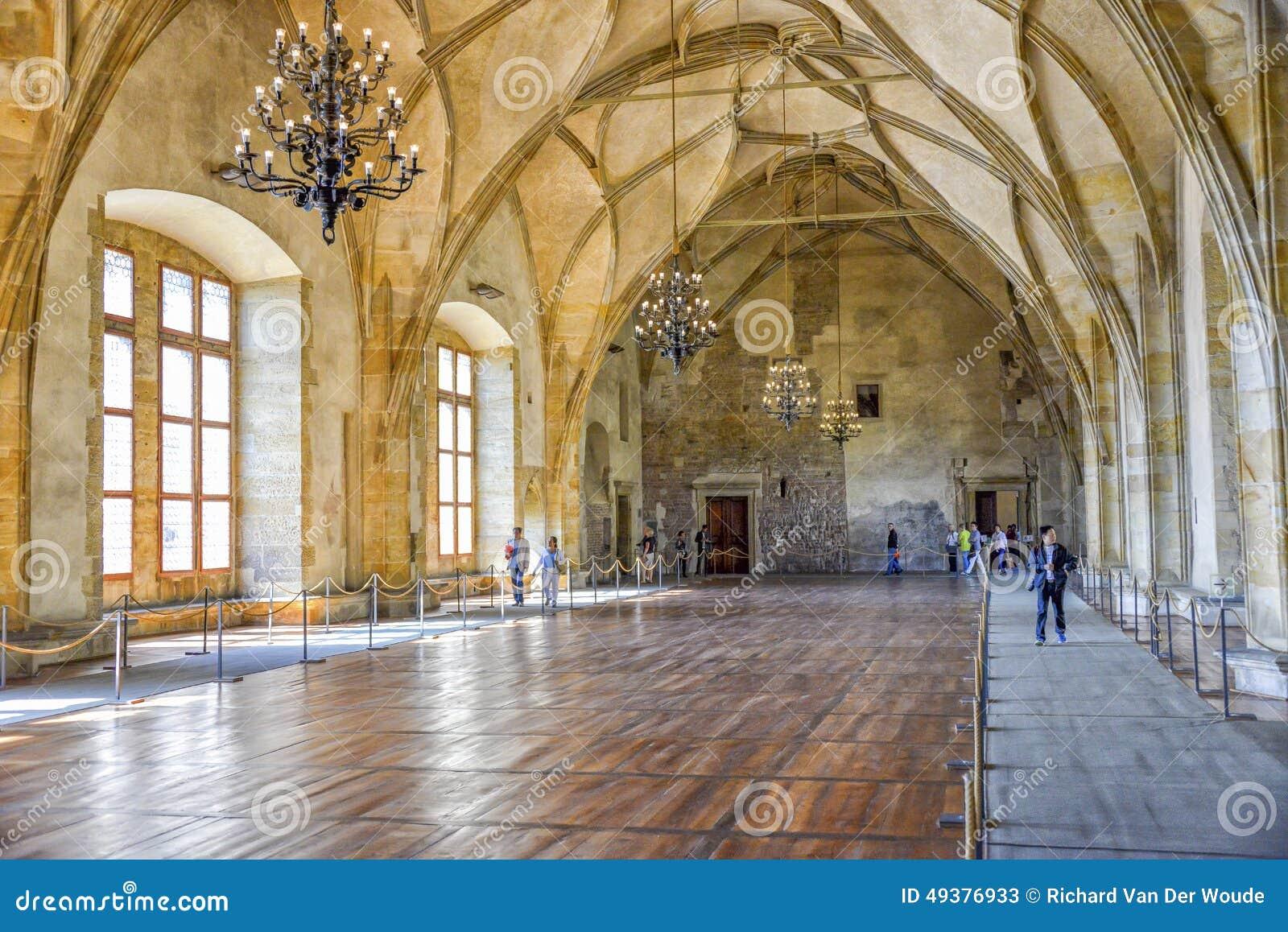 Stary Royal Palace, Praga, republika czech