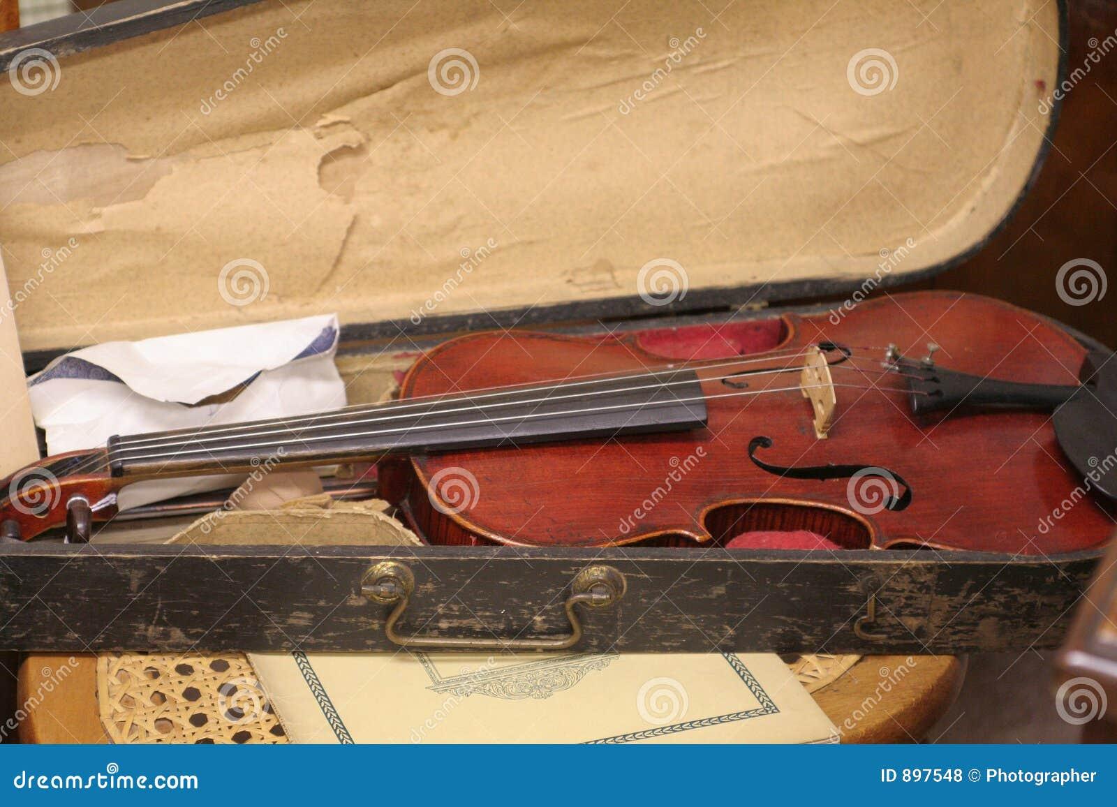 Stary skrzypcach