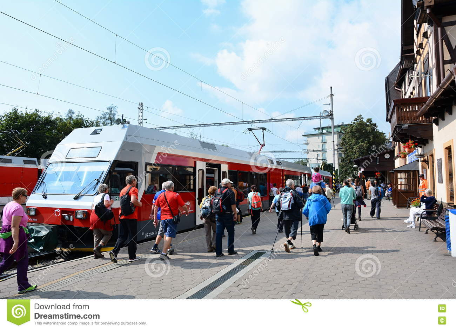Stary Smokovec火车站
