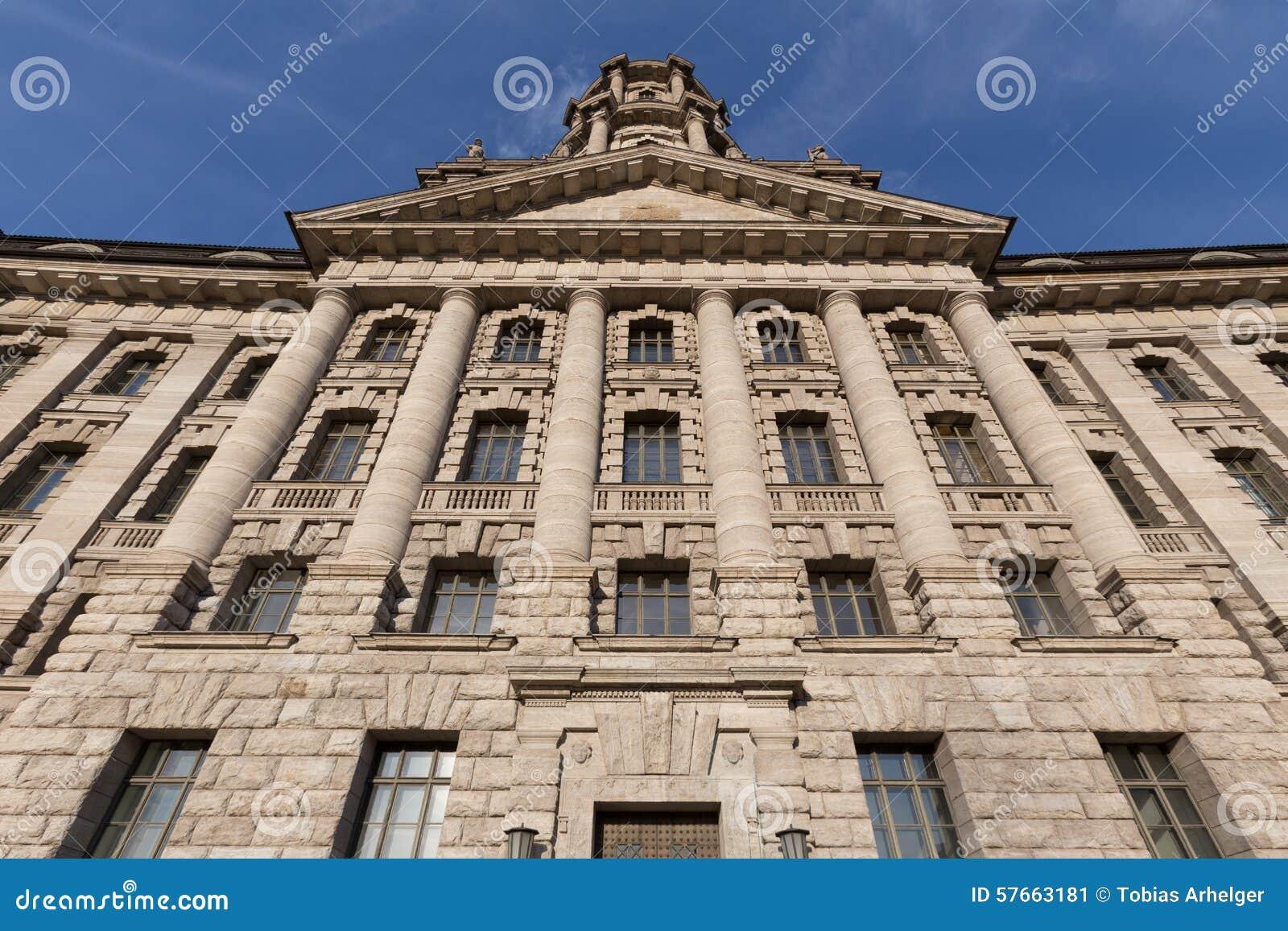Stary stadthaus budynek w Berlin Germany