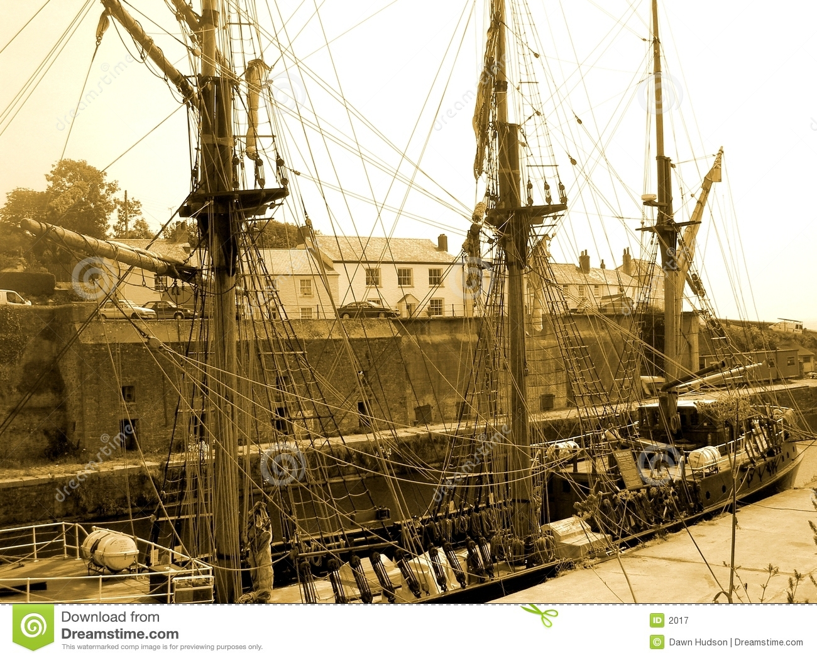 Stary statek styl