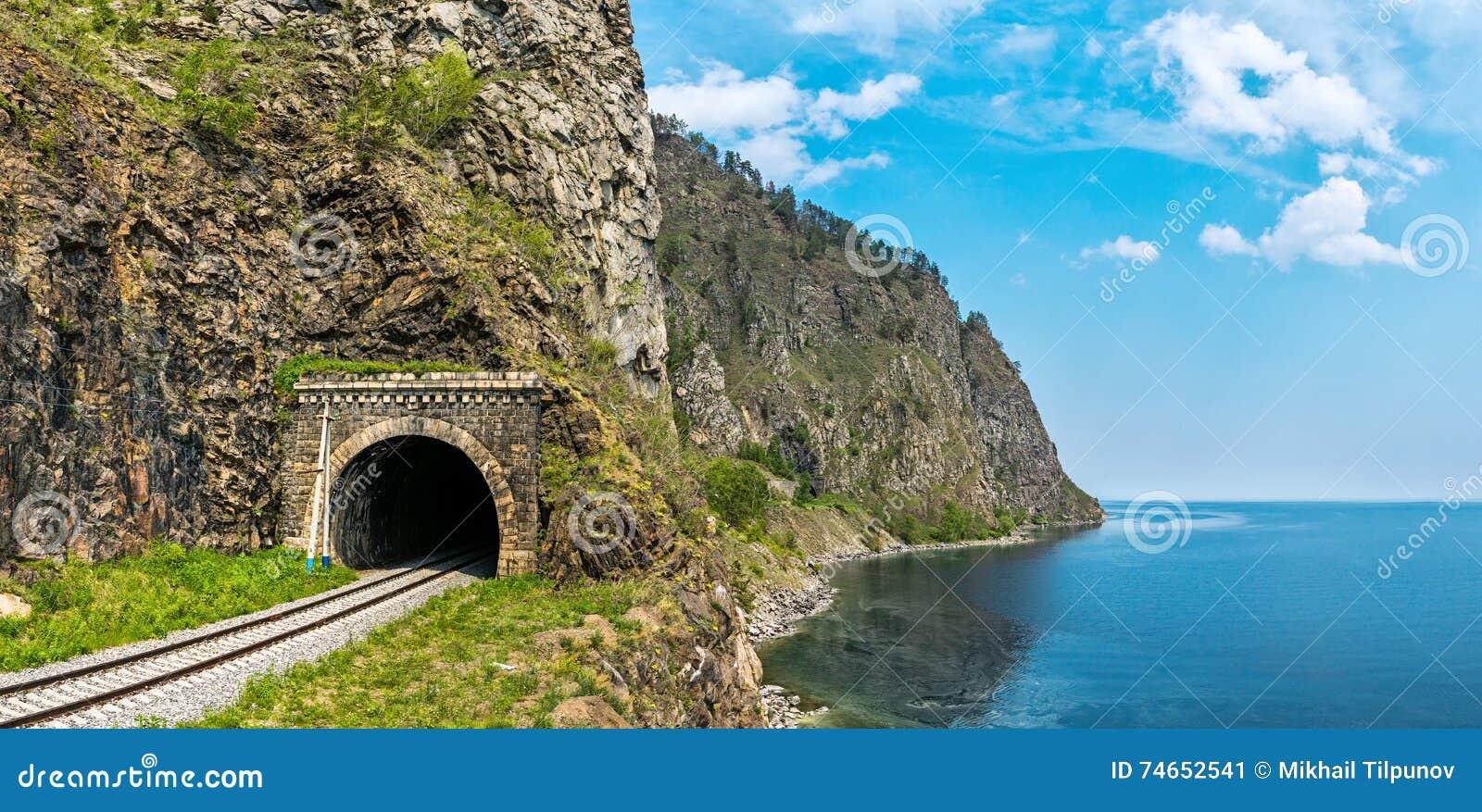 Stary tunel na Baikal kolei