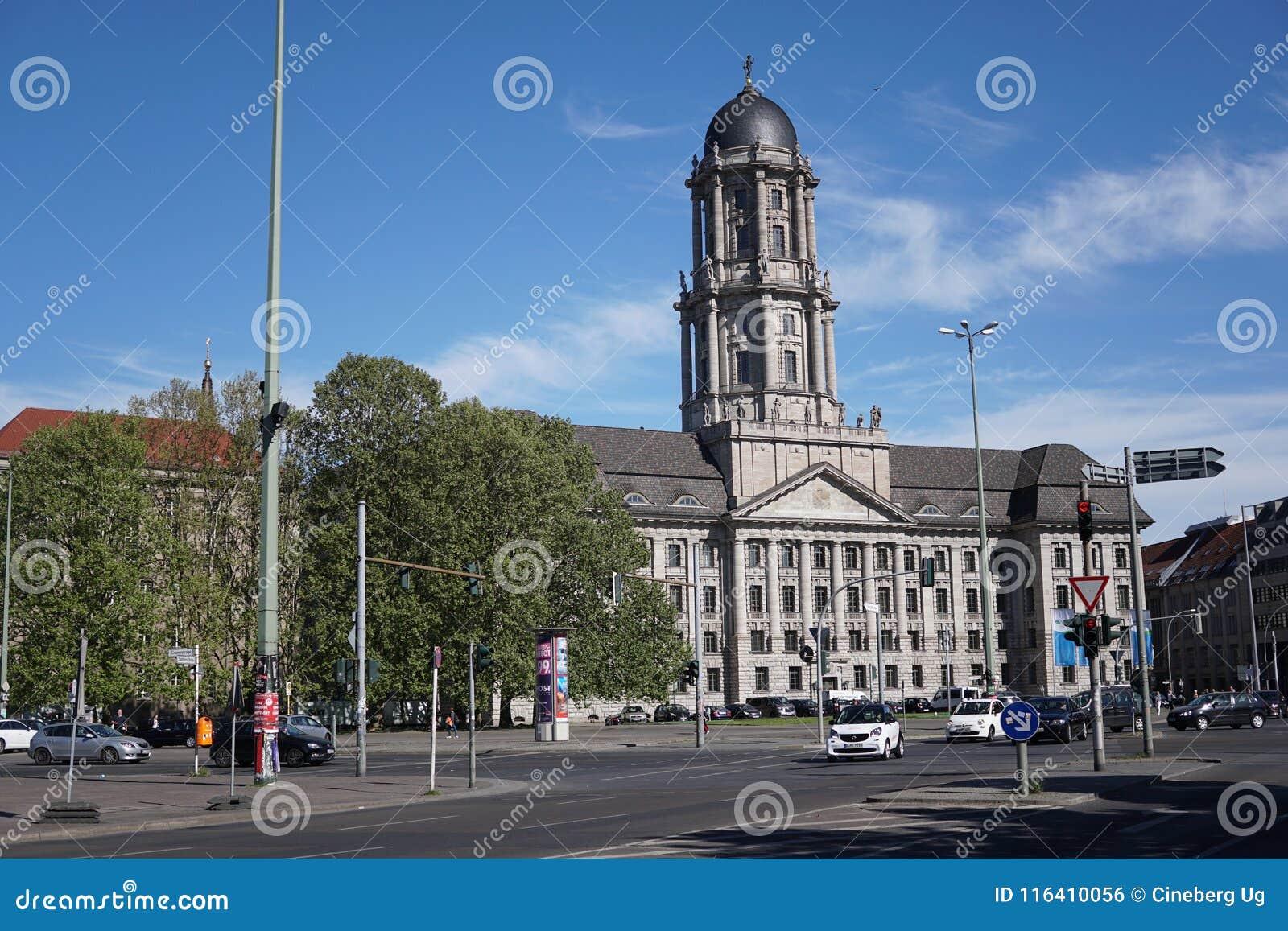 Stary urzędu miasta budynek w Berlin, Niemcy