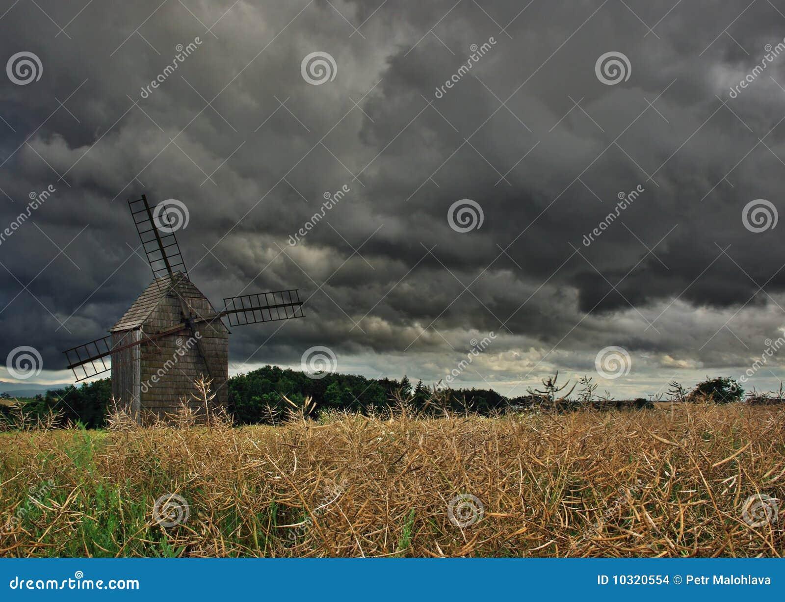 Stary wiatraczek