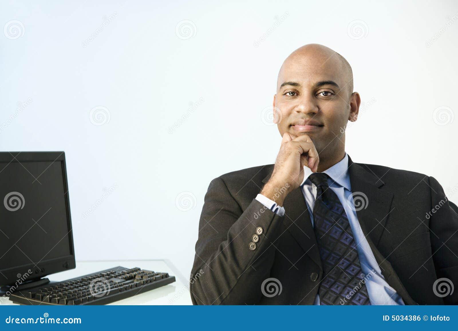 Stary zawodowiec urzędu