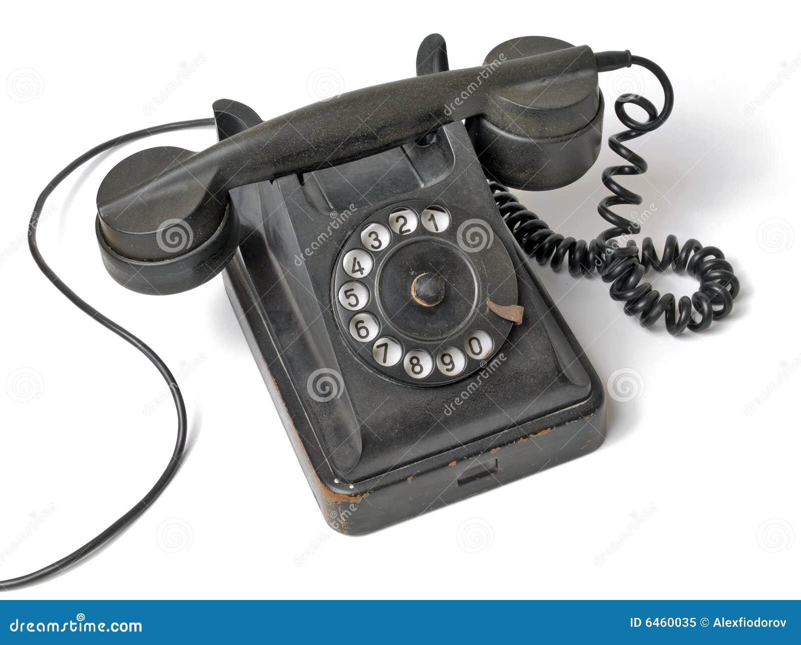 Stary zestaw telefon