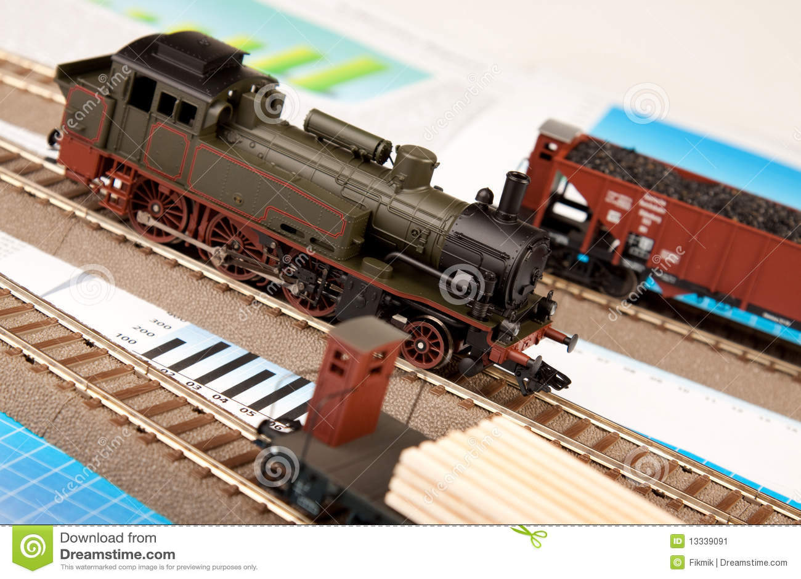 Starzy lokomotoryczni wykresów modele