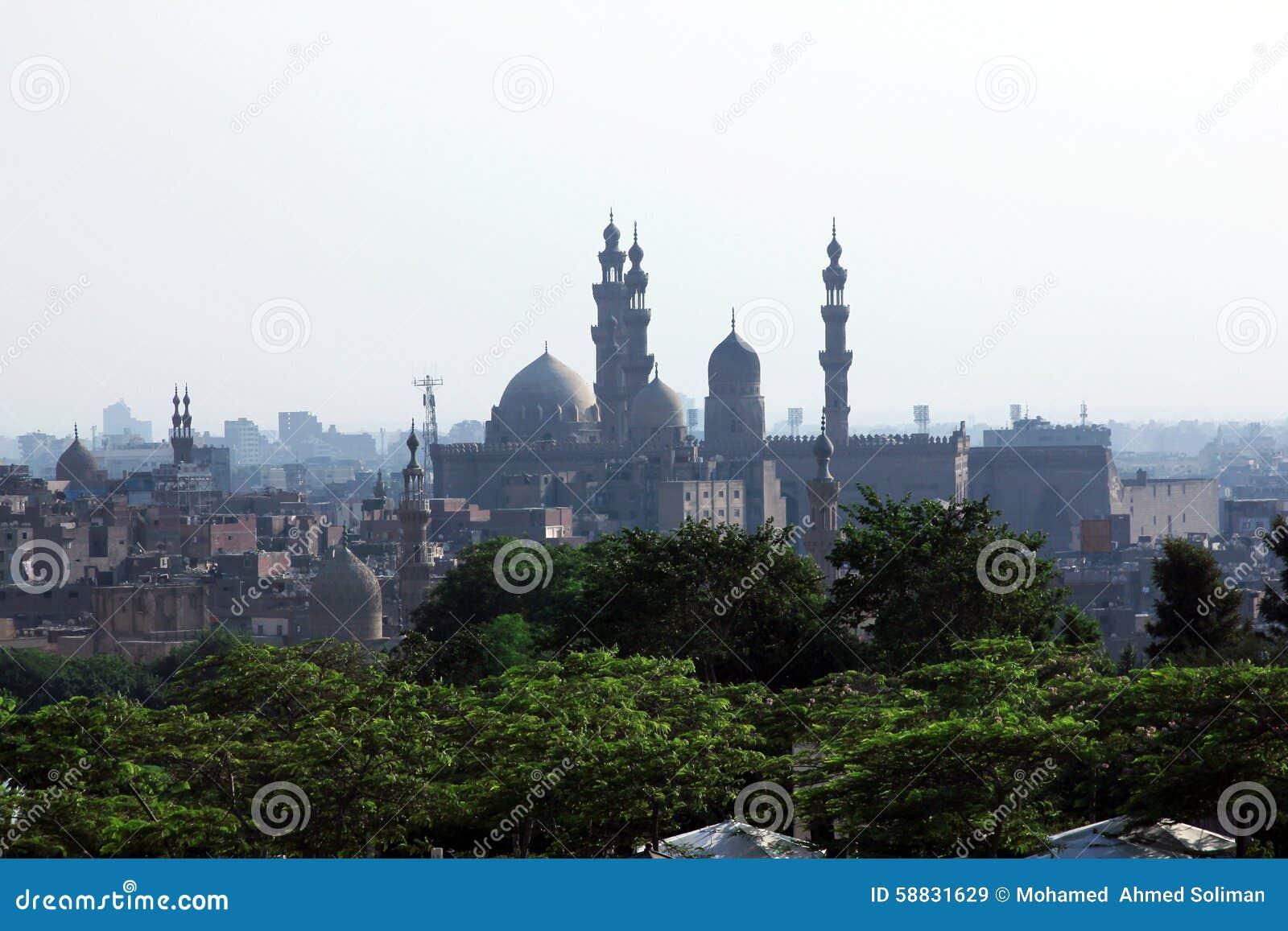 Starzy meczety w Cairo