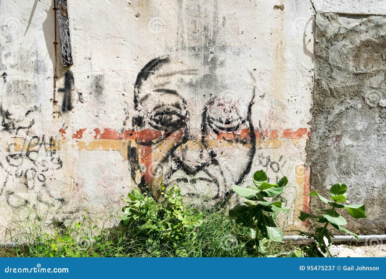 Starzy obrazu Punda Curacao widoki