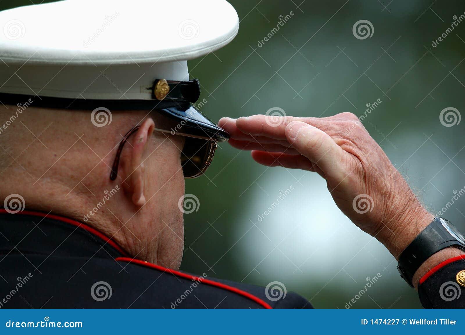 Starzy saluty morskich