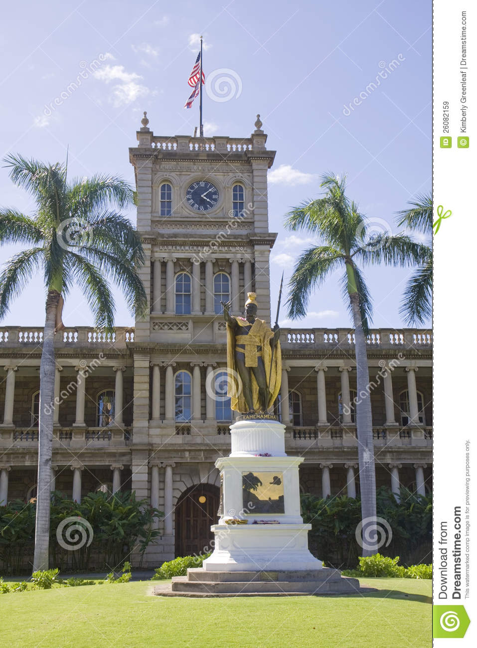 State Capital Building, Honolulu, Hawaii Royalty Free Stock Images - Image: 26082159