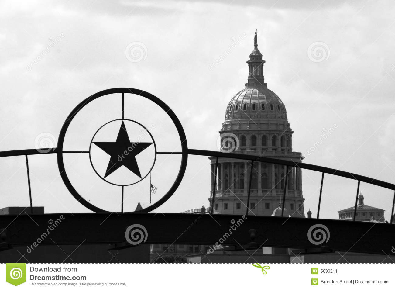 State Capitol Building in Downtown Austin, Texas