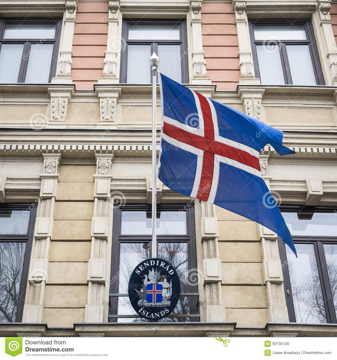 State Flag of Iceland