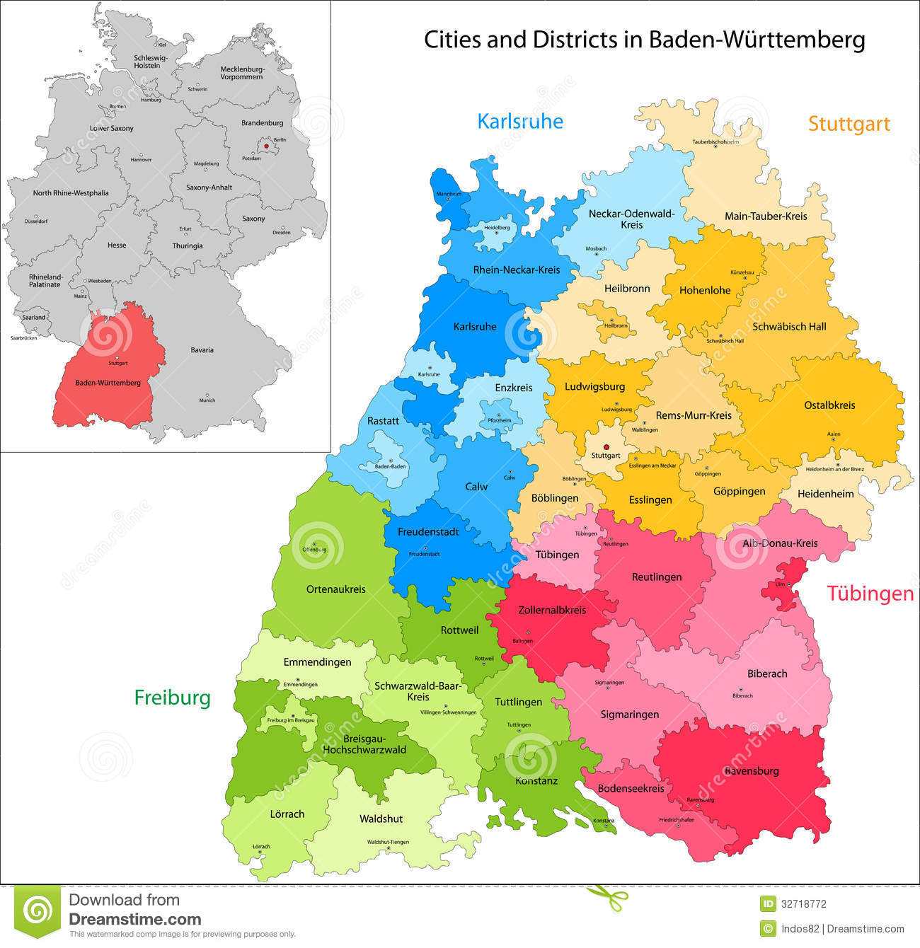 state of germany baden wurttemberg