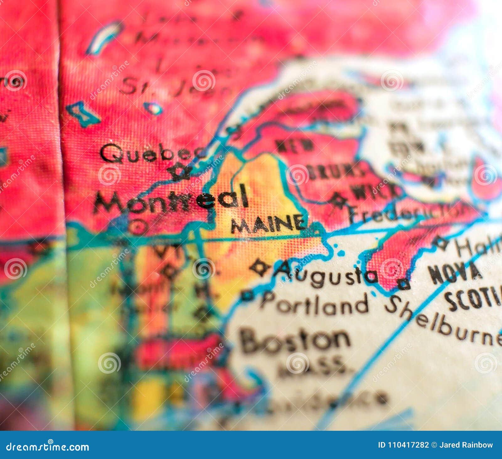 State Of Maine Map USA Focus Macro Shot On Globe For Travel ... on map of maine coast, map nashville usa, visit maine usa, map san antonio usa, map arkansas usa, map of maine rivers, map of maine towns, map cuba usa, map maine cities, map north dakota usa, new jersey, map houston usa, map ireland usa, map panama usa, new hampshire, map charlotte usa, map baltimore usa, map new hampshire usa, north carolina, map state usa, new york, rhode island, new england, map minneapolis usa, map russia usa, map virgin islands usa,