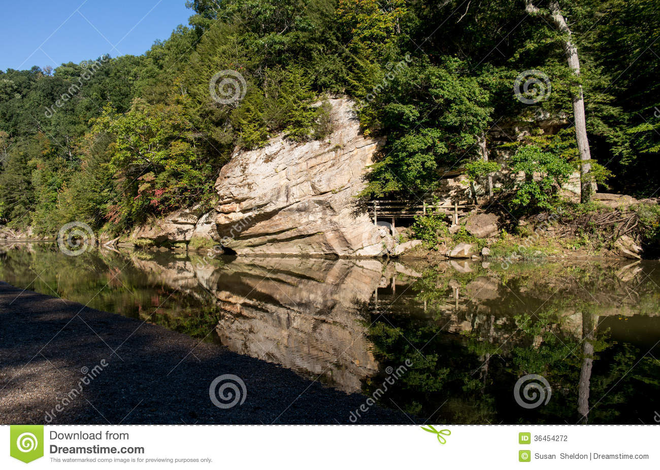 State Park Reflection Stock Photography Image 36454272