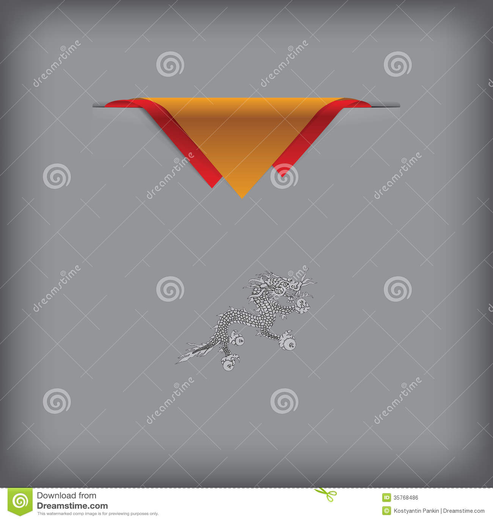 State Symbols Of Bhutan Stock Vector Illustration Of Symbol 35768486