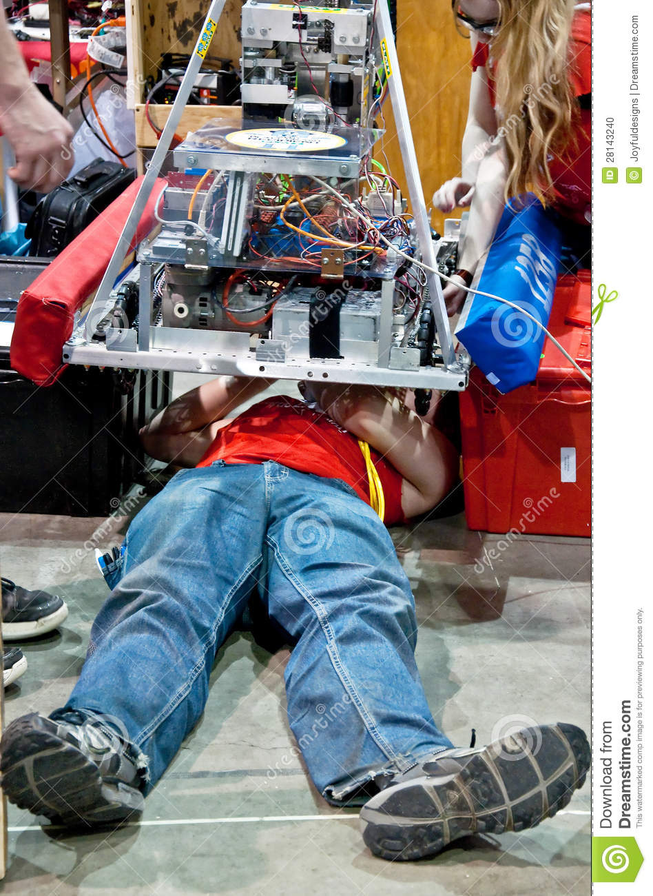 State Teen Robotics Competition