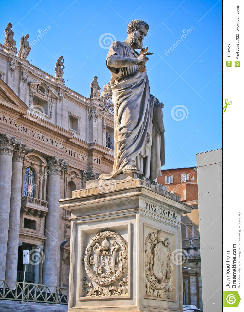 State Of The Vatican City Stock Photo. Image Of Beautiful