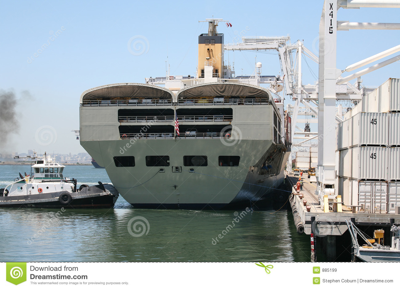 Statek oskarżenia żurawi
