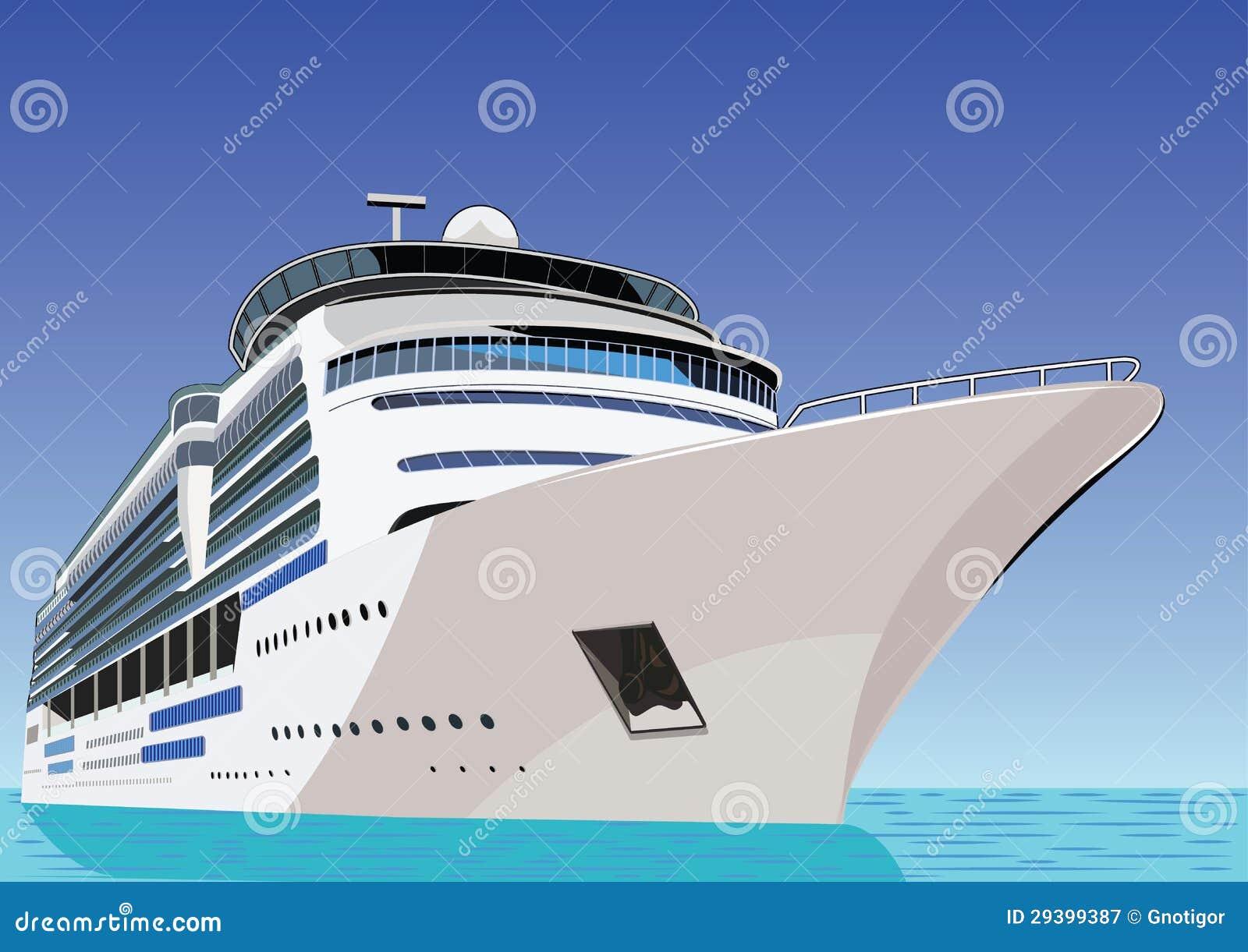 Statek. Rejsu liniowiec