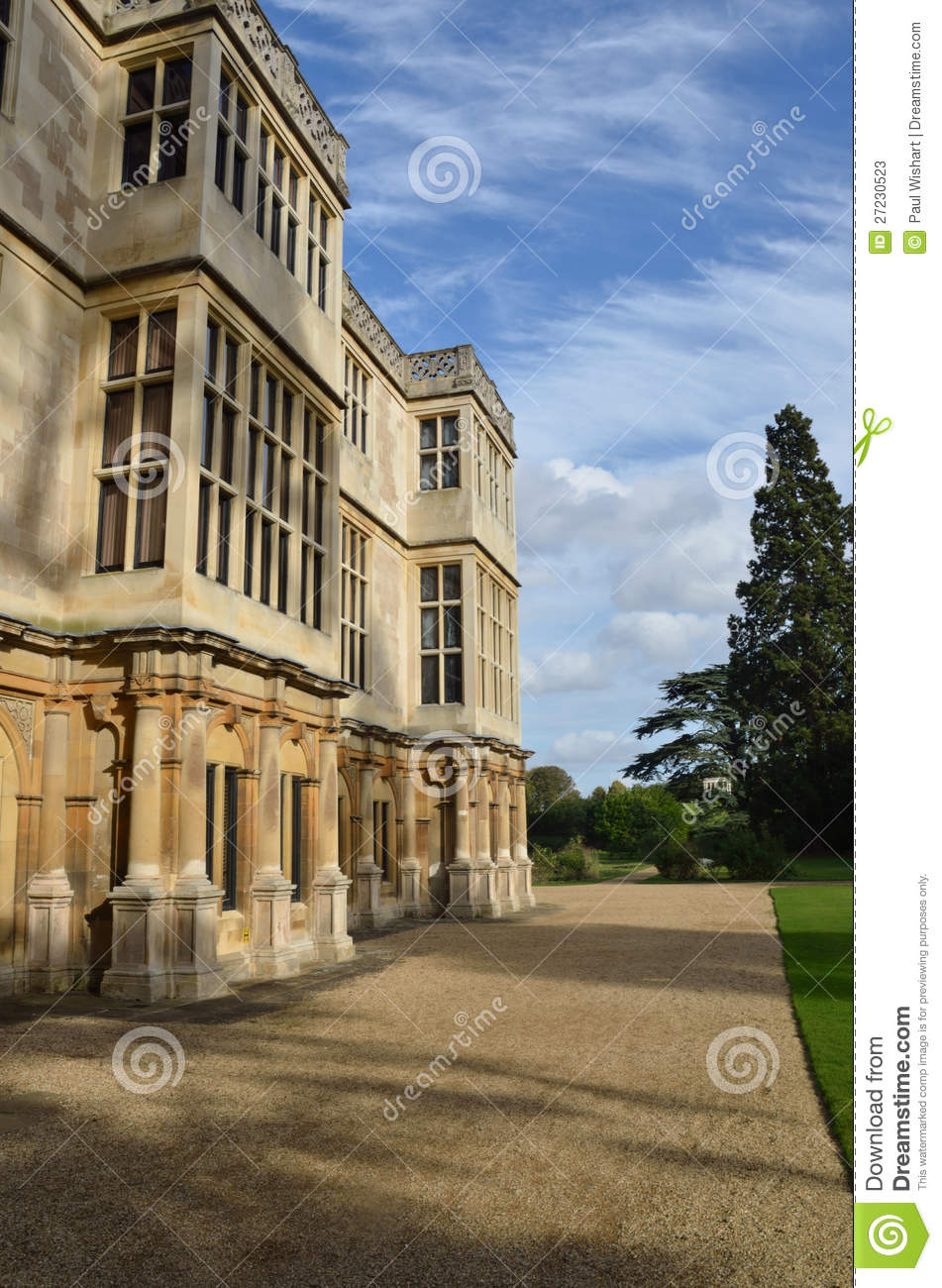 Stately home front