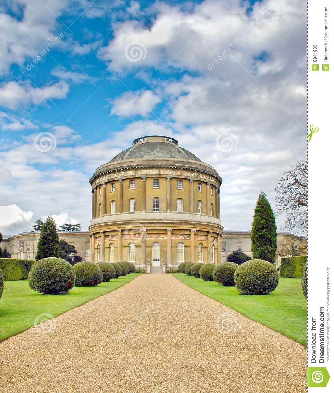 Stately Manor Stock Photo. Image Of Dwelling, Magnificent