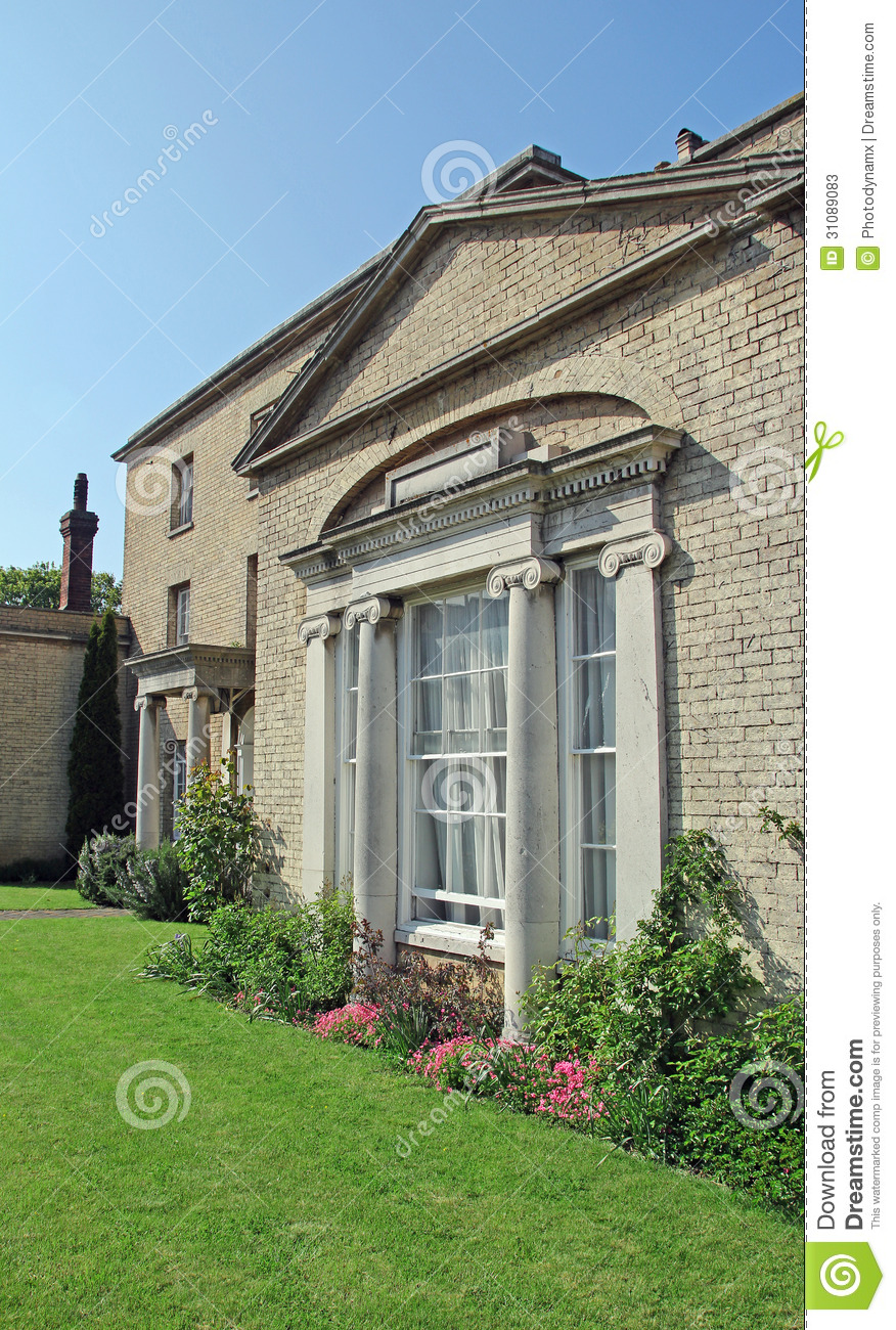 Manor House Drawing: Stately Manor House Stock Photos