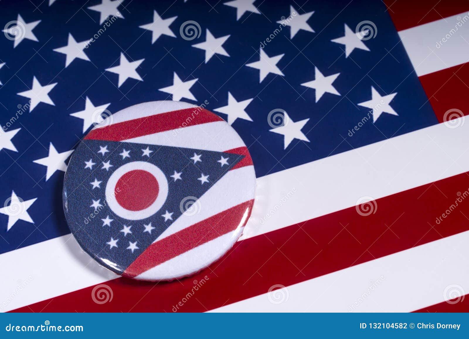 Staten av Ohio i USA