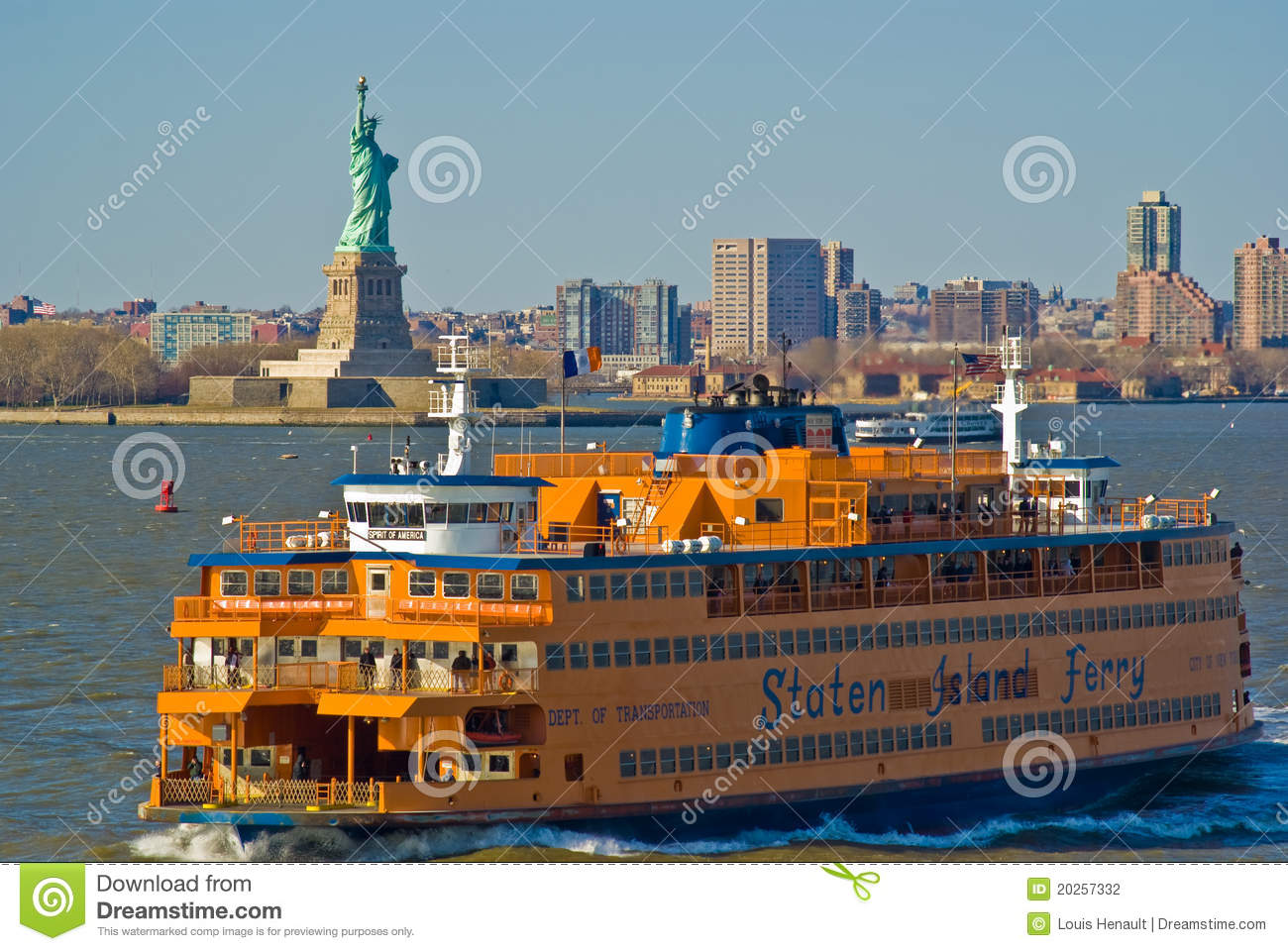Staten Island Ferry, New York Editorial Photography - Image: 20257332
