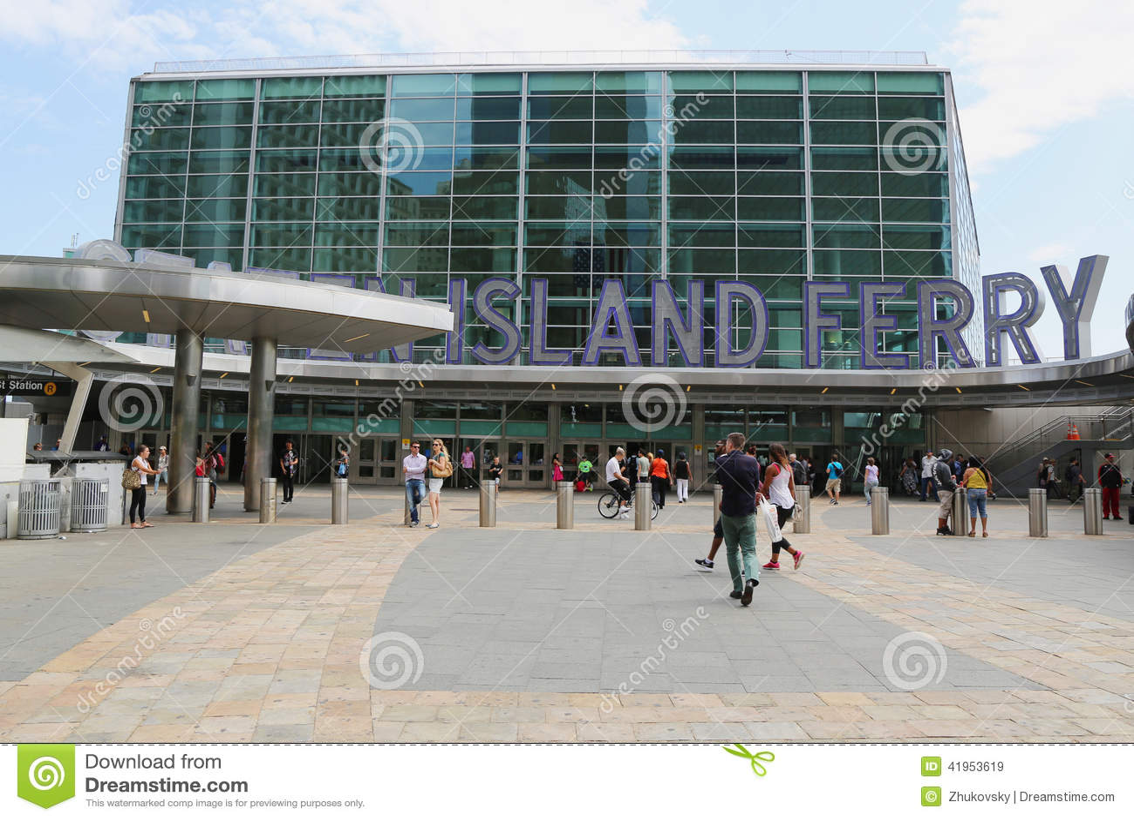 Staten Island promu Whitehall Terminal w Manhattan