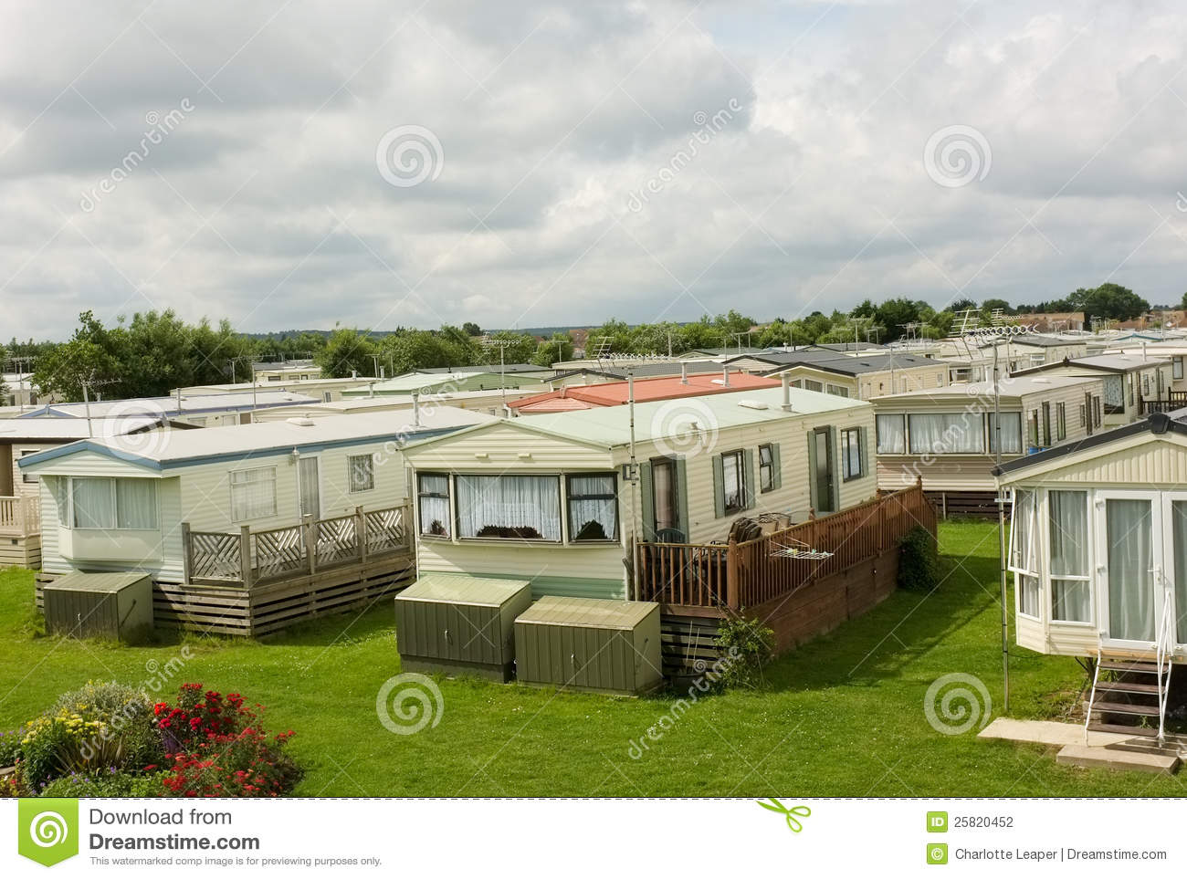Balconies Camp Caravan Caravans England Gardens Holiday Homes Mobile Park