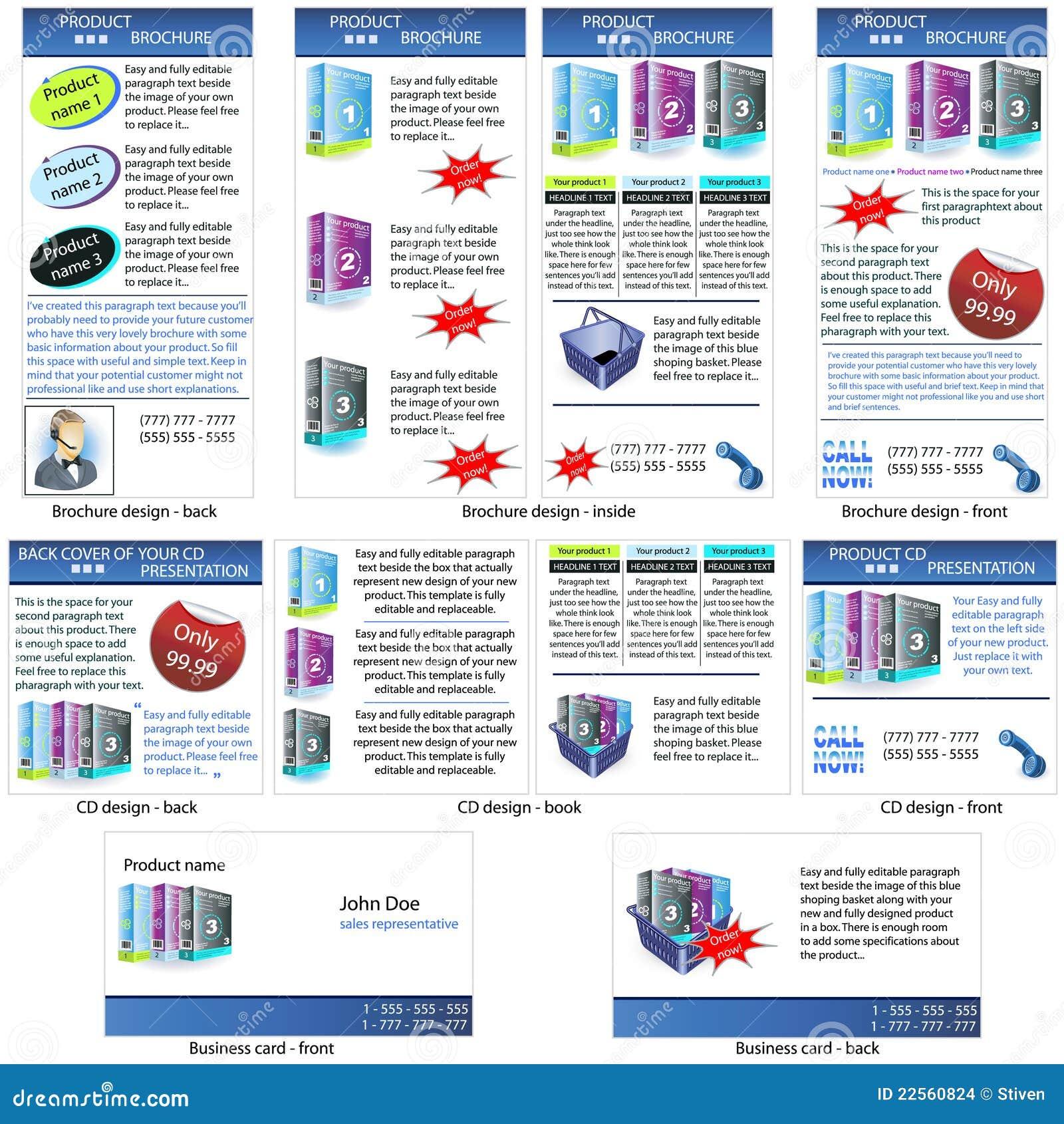 Stationäre Schablone des neuen Produktes